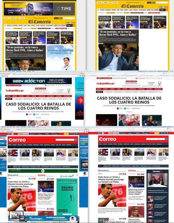 Ad block - portales bloqueados en el Perú