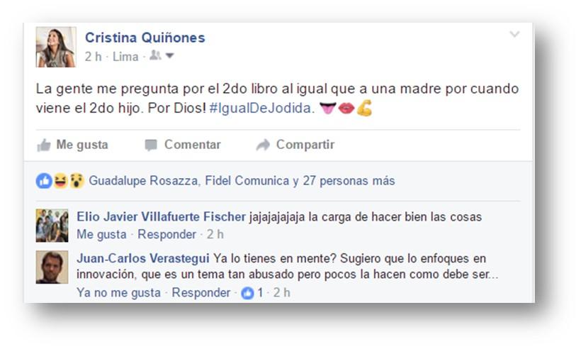 Libro Cristina Quñones
