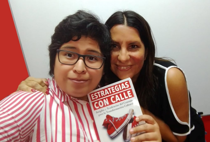 Marlene Chocce y Cristina Quinones