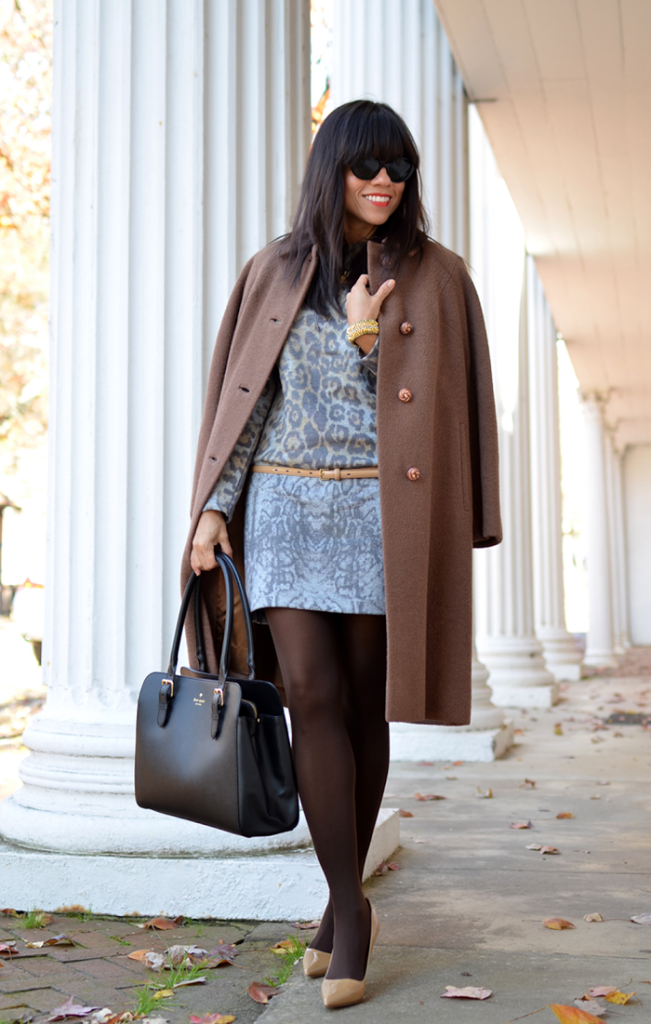 Leopard Dress Street Style