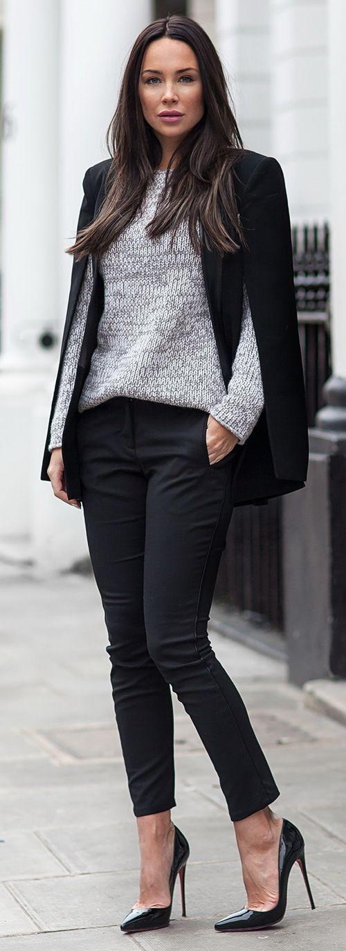 Semi Casual London Style
