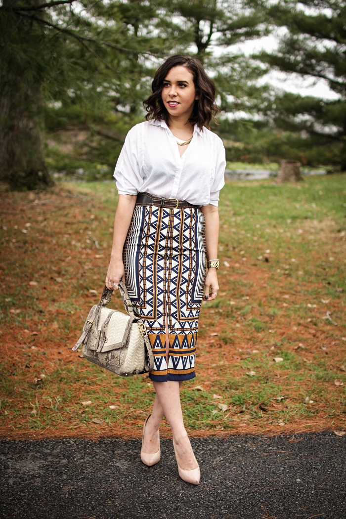 andrea viza. andréa viza. a viza style. dc blogger. work style. topshop skirt. office style. printed skirt. 8
