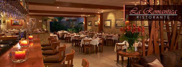 Restaurantes romanticos Lima
