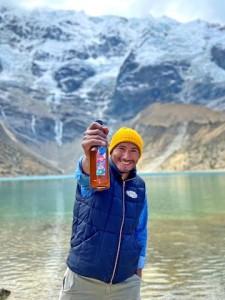 Anderson Olarte cervecero de Victoria Sour Beer
