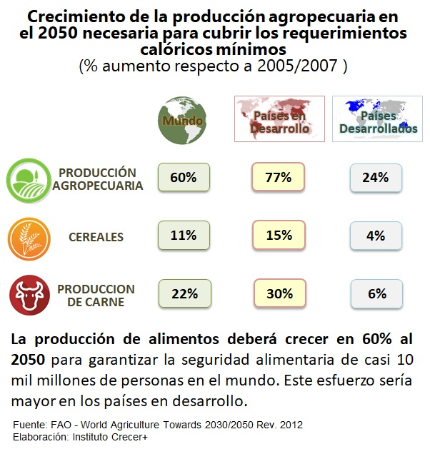 Produccion Agropecuaria 2050