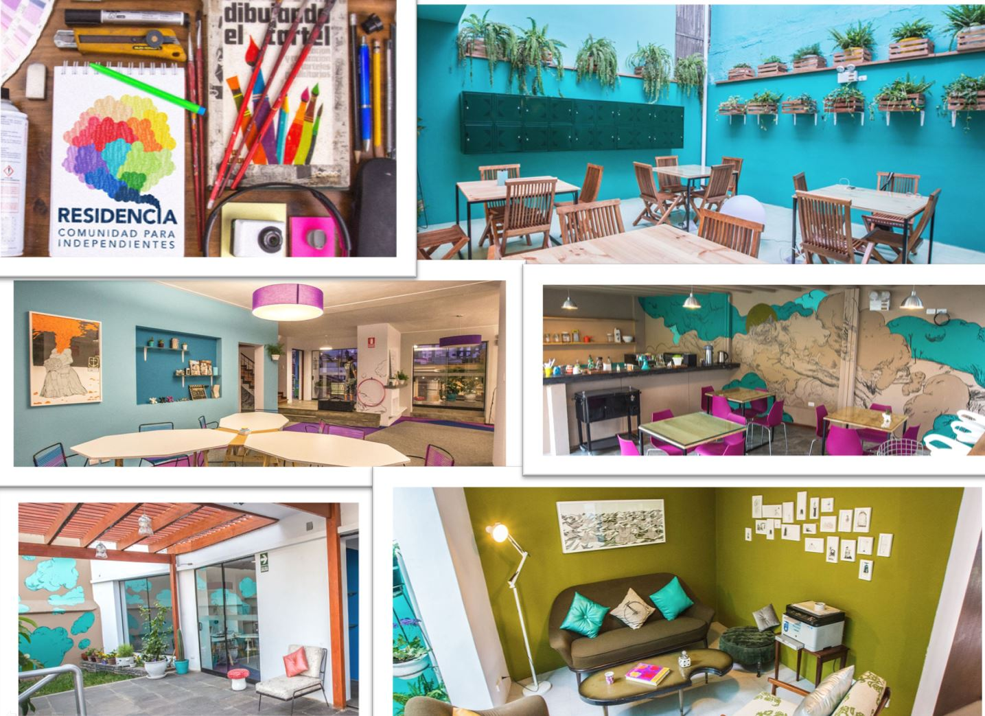 RESIDENCIA COLLAGE