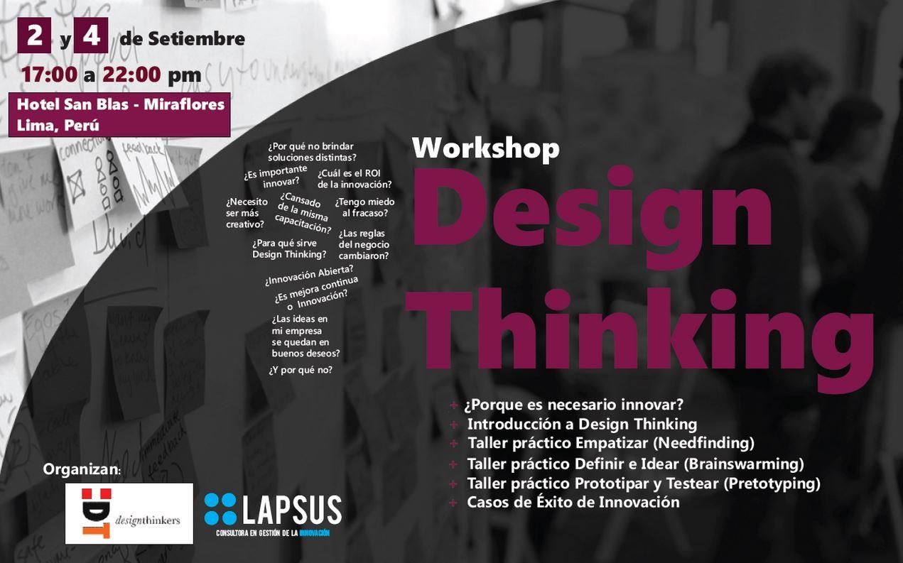 Design Thinking Perú Lapsus Luis Delgado Corrales Design Thinkers Perú Lapsus