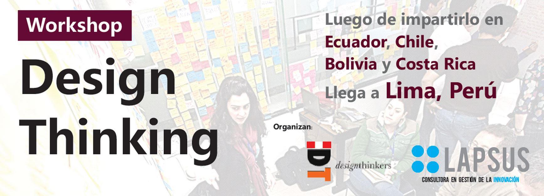 Innovación y Design Thinking - Luis Delgado Corrales Lapsus Design Thinking Perú