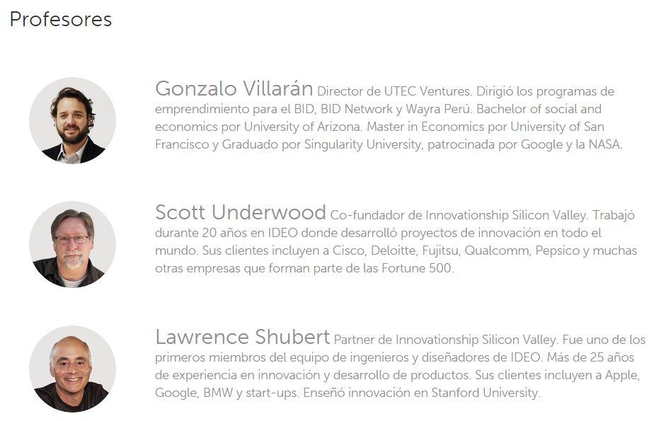 UTEC Design Thinking Innovación
