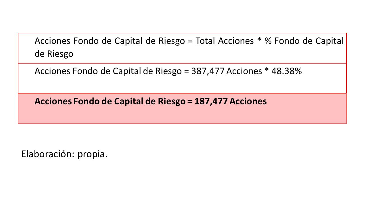 Gráfico 10. Acciones-fondo de capital de riesgo