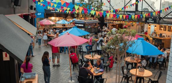 Mercado 28, una multialternativa de comida y diversión