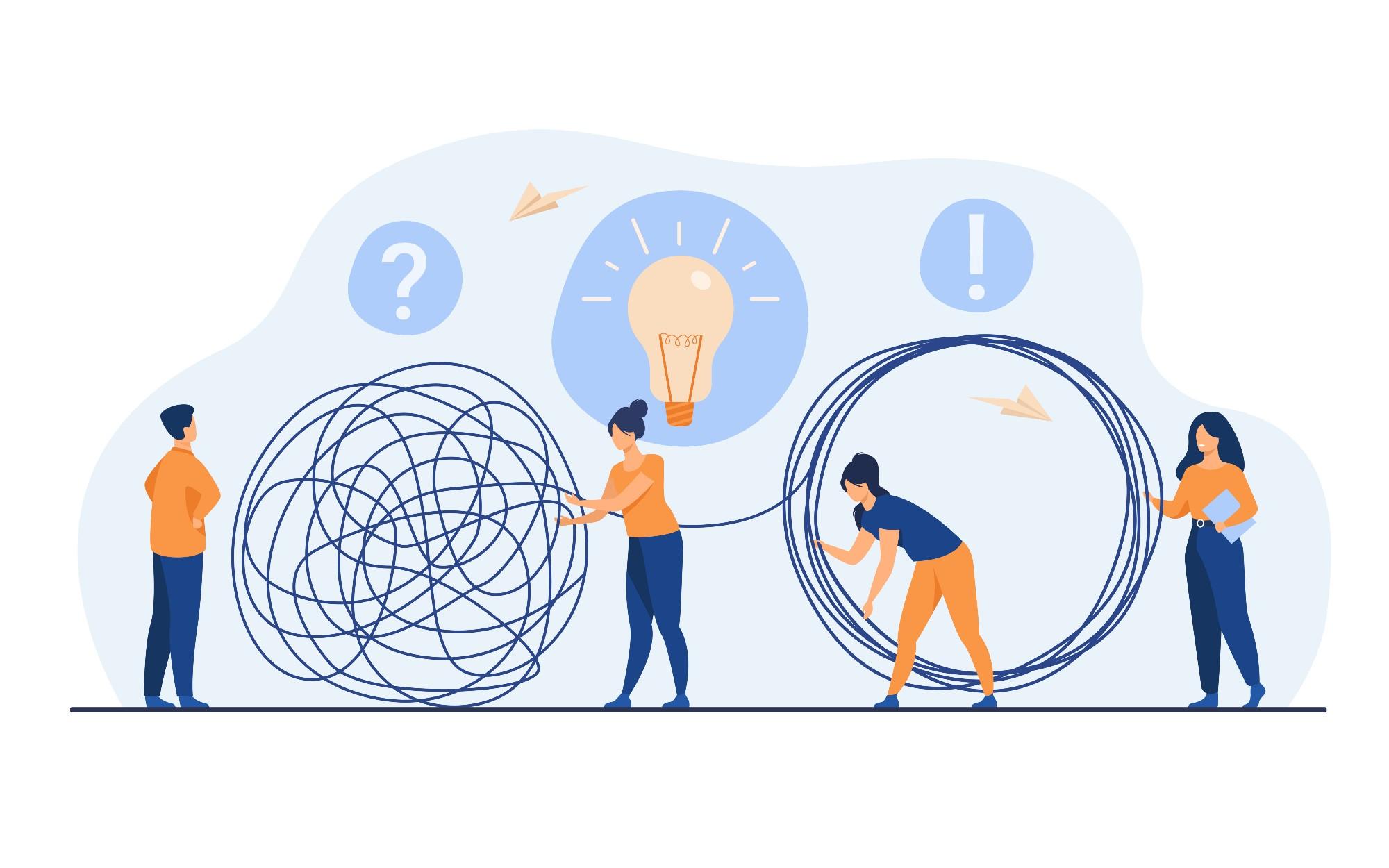 En un mundo complejo, el éxito de las organizaciones depende del aprendizaje para entrelazarse en red. (Imagen: Freepik)