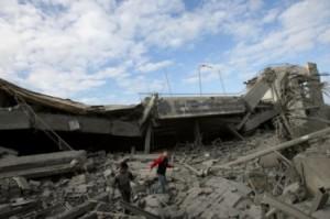 colegio destruido