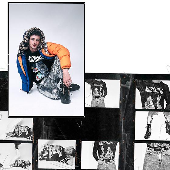 4.-Luis Carlos Leiva - Jorge Anaya - Moschino - H&M - Styling Peru