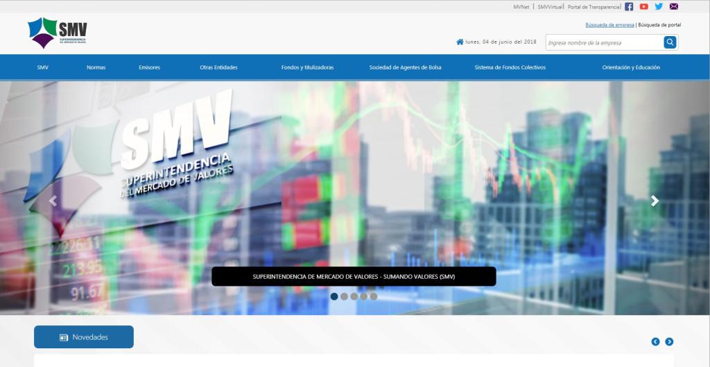 SMV, Superintendencia del Mercado de Valores