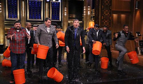 Ice Bucket Challenge Jimmy Fallon