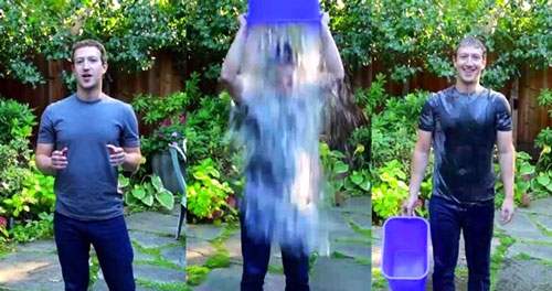 Ice Bucket Challenge de Mark Zuckerberg