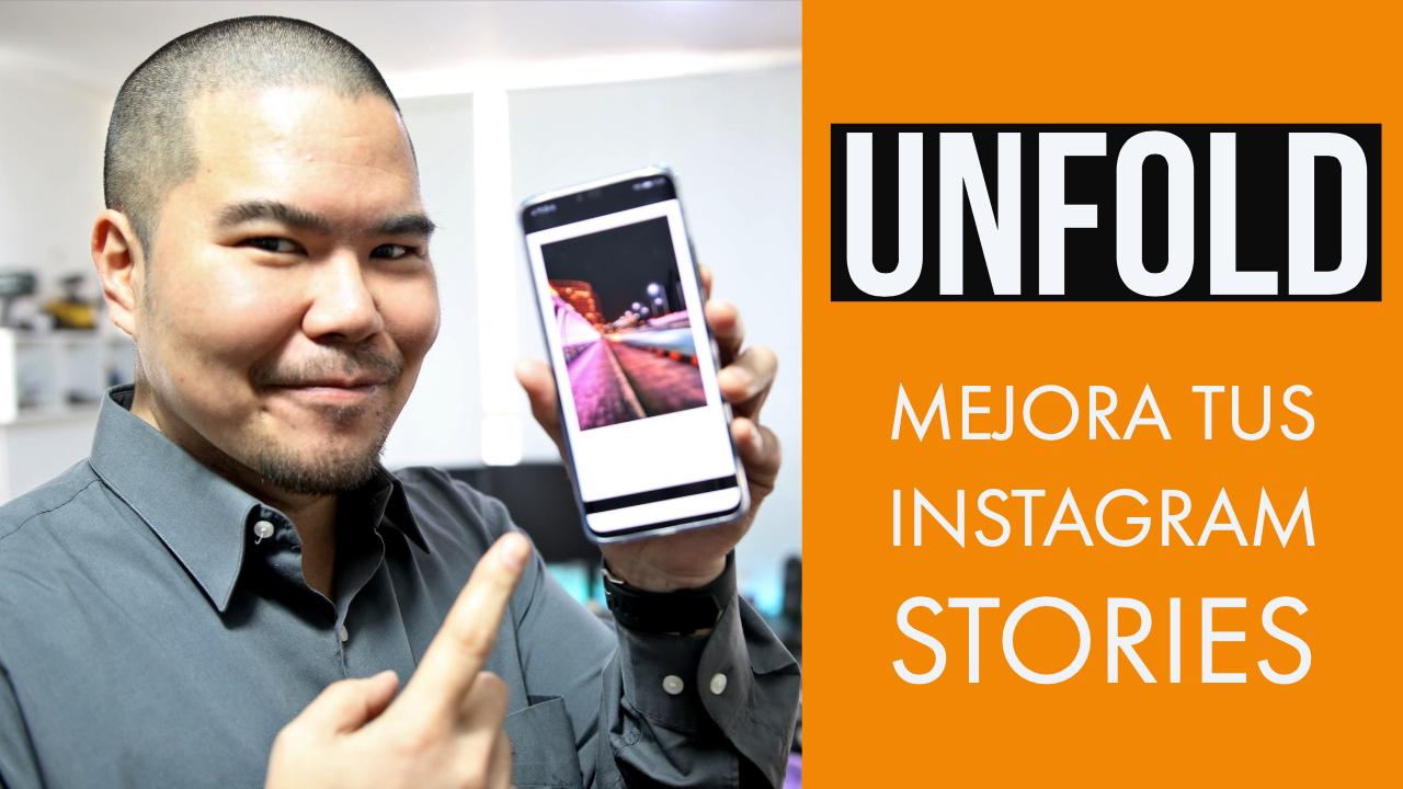 Lleva tus Instagram Stories al siguiente nivel con UNFOLD