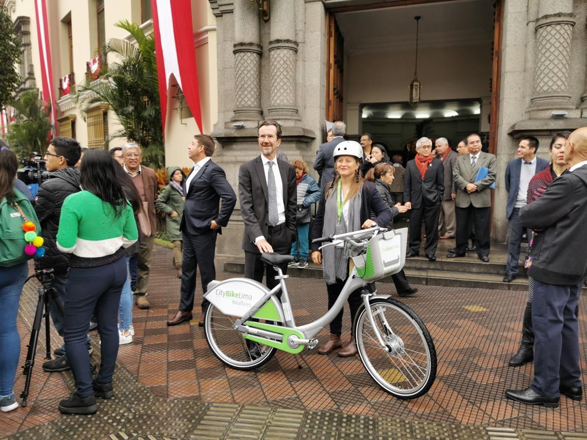 Se inaugura CityBike Lima, servicio de Bicis Públicas en Miraflores (VIDEO)
