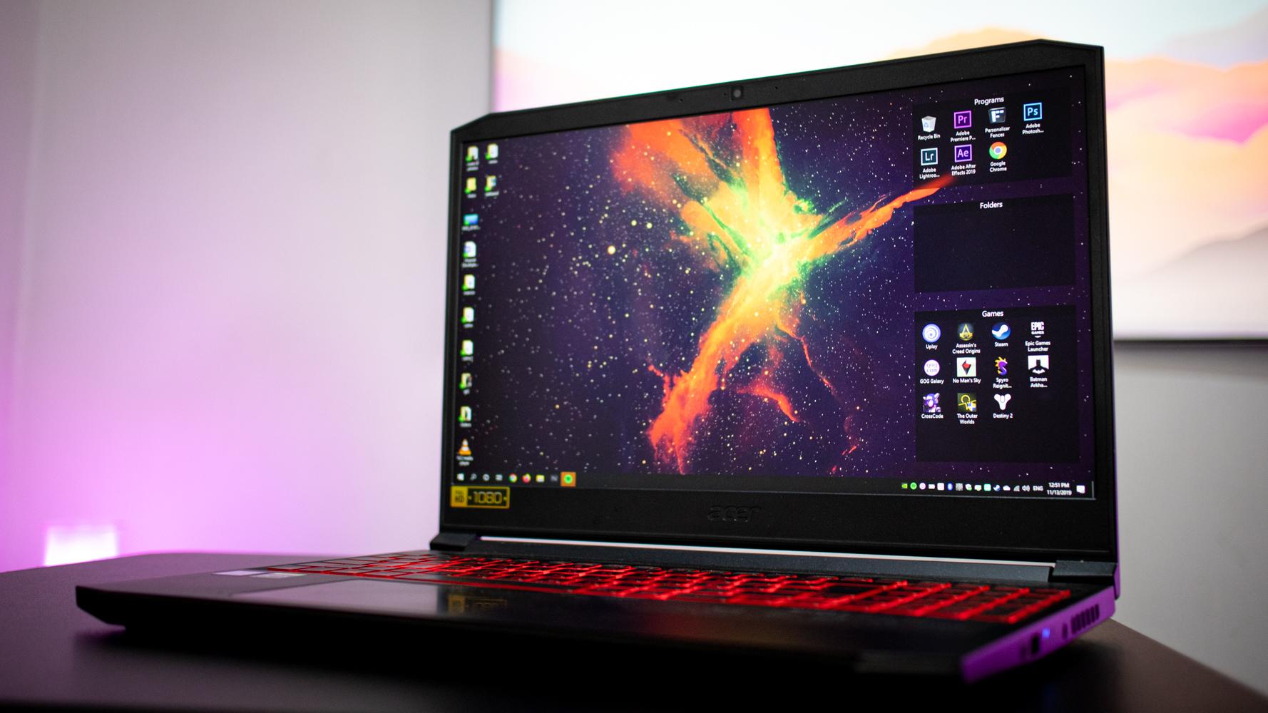 Una Laptop Gamer, para edición, diseño gráfico y modelado 3D?