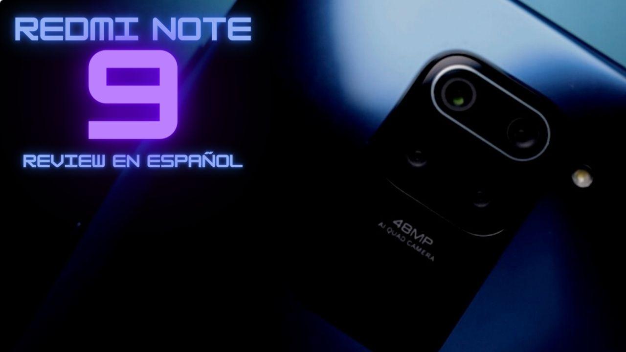 Xiaomi Redmi Note 9 Análisis en Español