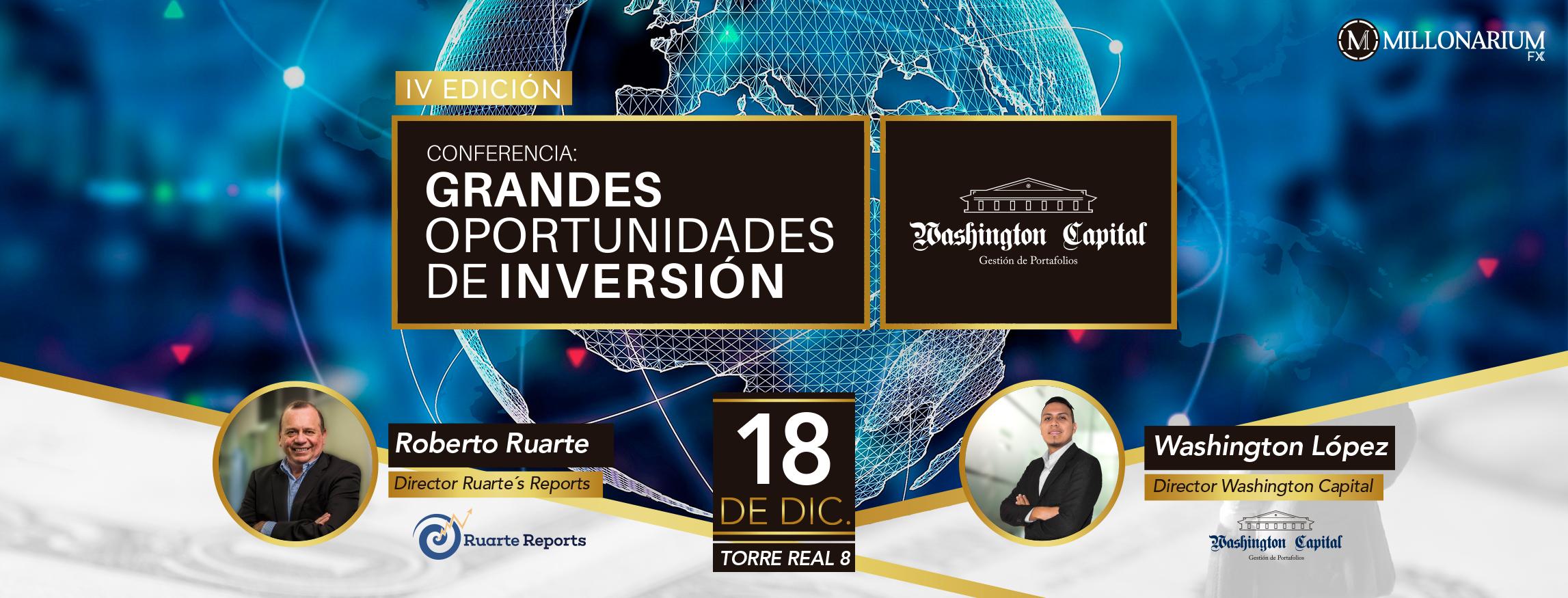 GRANDES OPORTUNIDADES DE INVERSIÓN – 4TA EDICIÓN