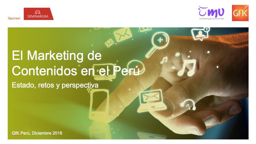 El Marketing de Contenidos en el Perú
