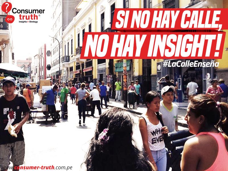si no hay calle, no hay insight