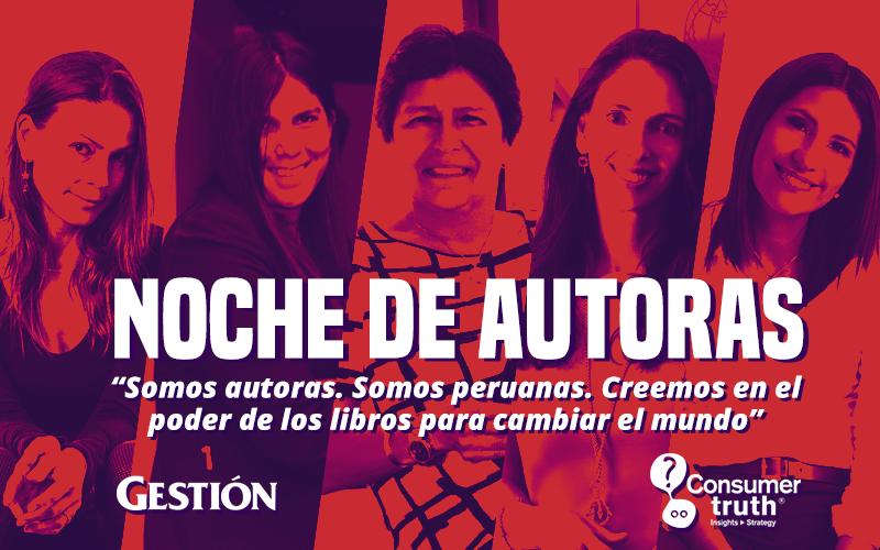 """Noche de Autoras: """"Somos autoras. Somos peruanas. Creemos en el poder de los libros para cambiar el mundo"""""""