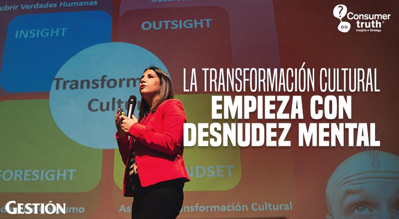 La Transformación Cultural empieza con Desnudez Mental