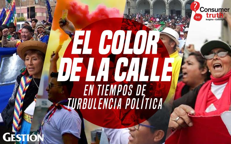 El color de la calle en tiempos de turbulencia política