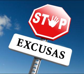 Las excusas que ponemos para no lucir bien