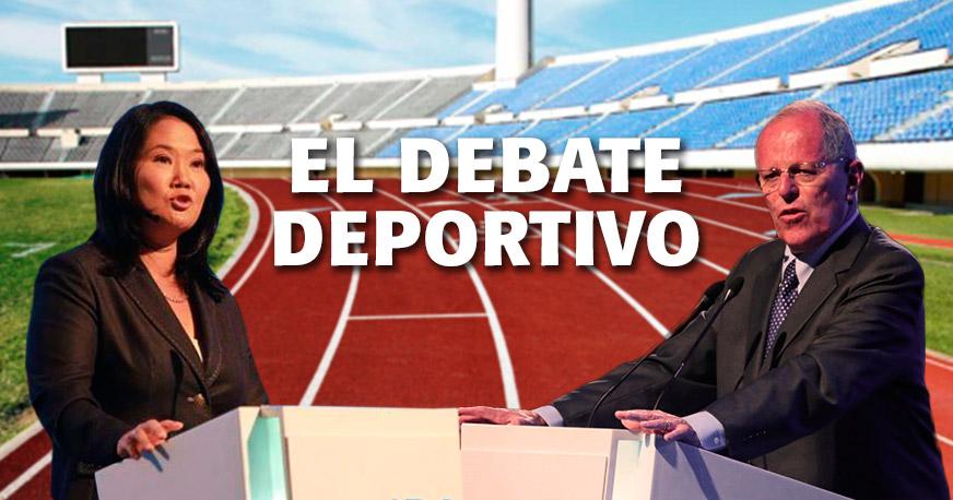 El Debate Deportivo  lo que proponen PPK y Keiko para el futuro del ... 387e1523c9588