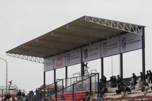 Nueva zona VIP con butacas techadas el estadio de VES.