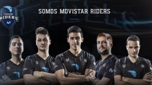 Equipo Movistar Riders de eSports en  España.