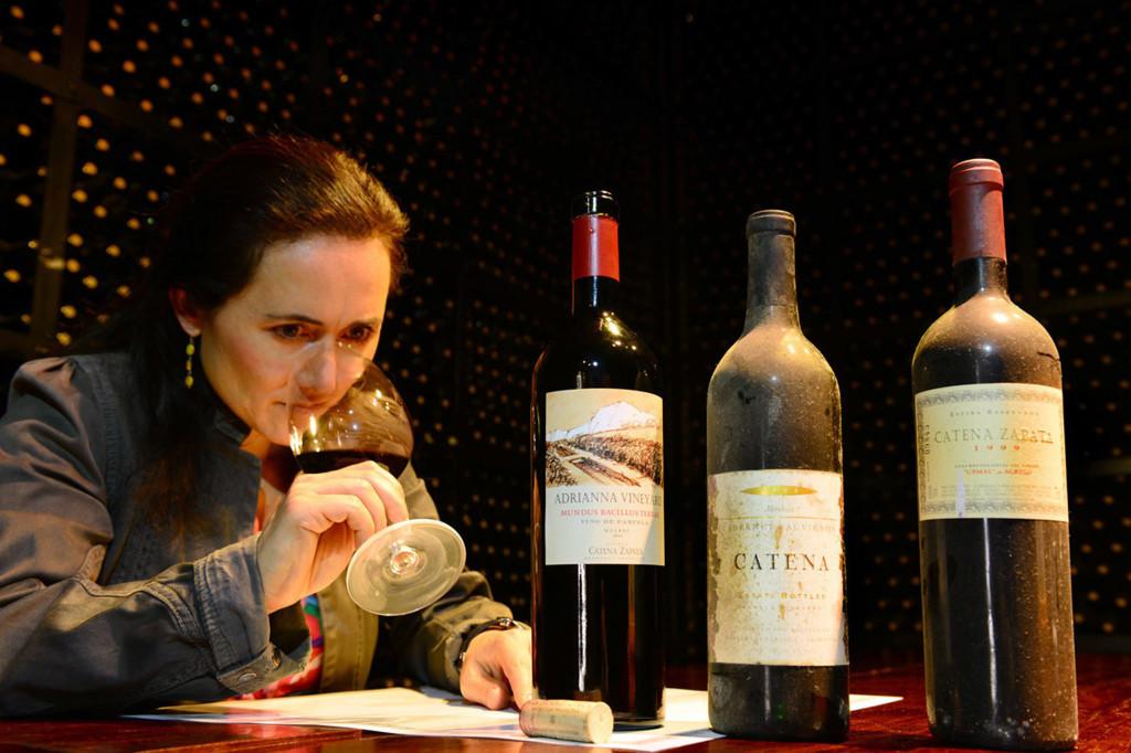 Laura Catena tasting
