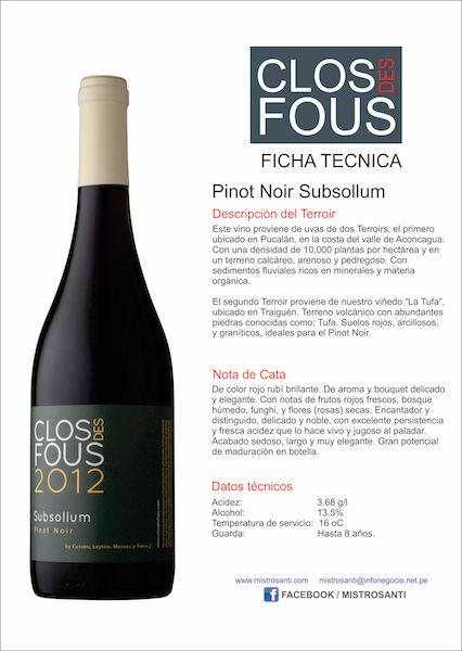 Pinot Noir Subsollum