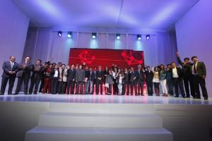 Los felices ganadores de Startup Perú. ¡A seguir innovando!