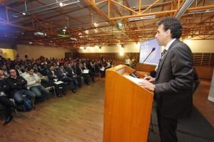 """""""Vamos a convertir al Perú en uno de los mejores ecosistemas de la región de apoyo al emprendimiento innovador"""", dijo el ministro de la Producción  Piero Ghezzi. Importante apuesta desde el Ejecutivo."""