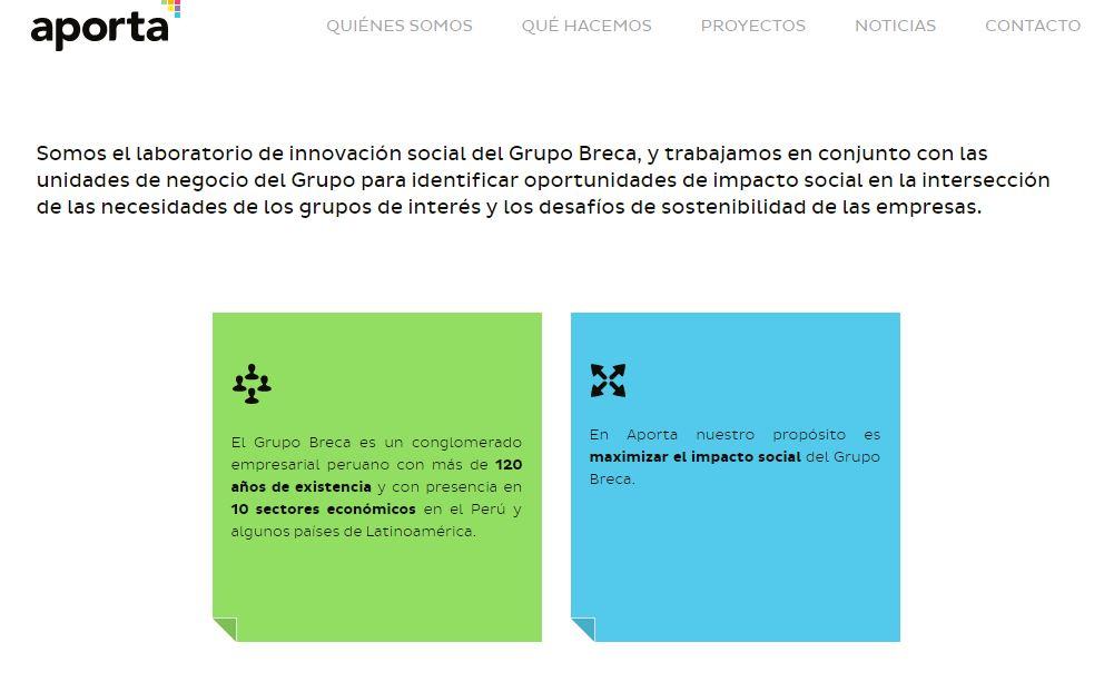laboratorio de innovacion social peru