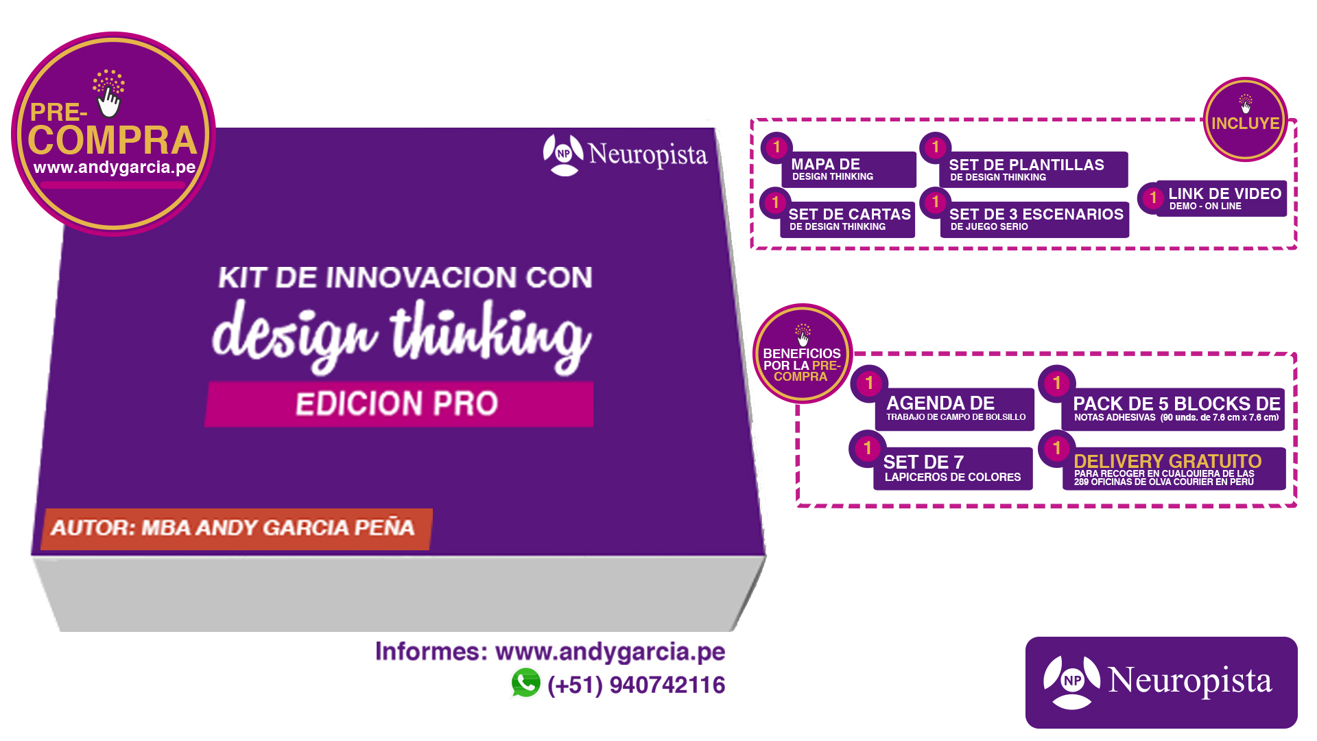 kit design thinking perú