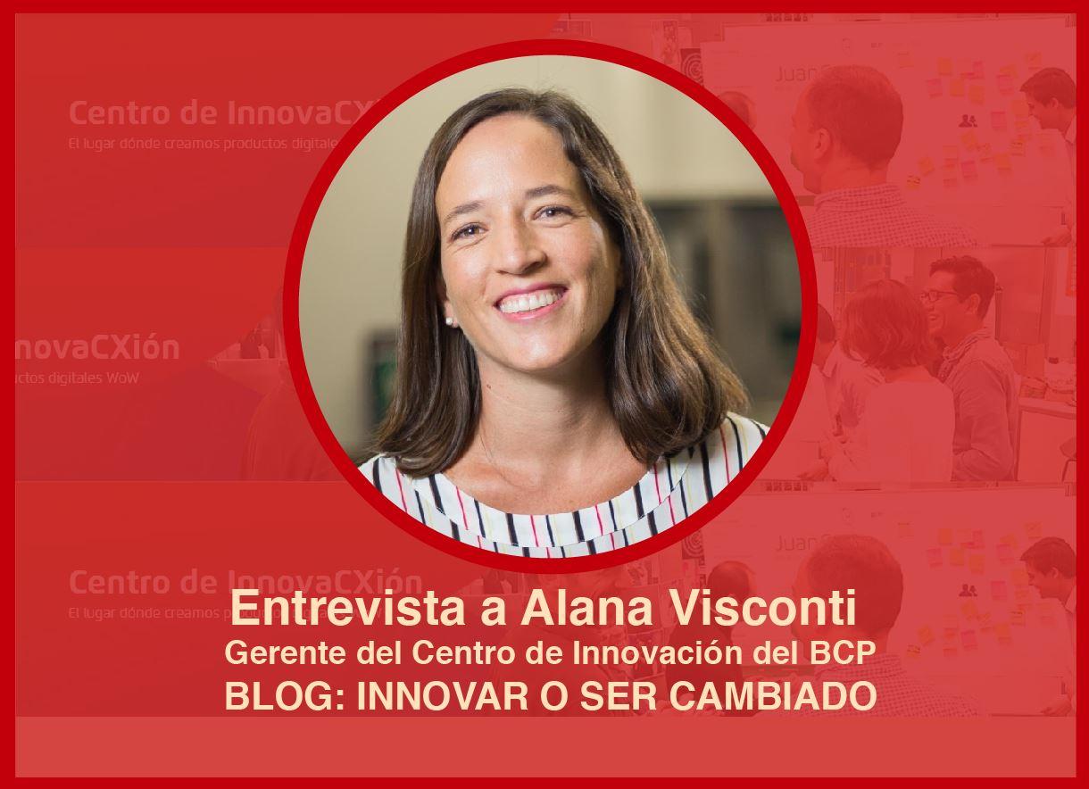 La Hackathon del CIX BCP: Entrevista a Alana Visconti Gerente del CIX BCP