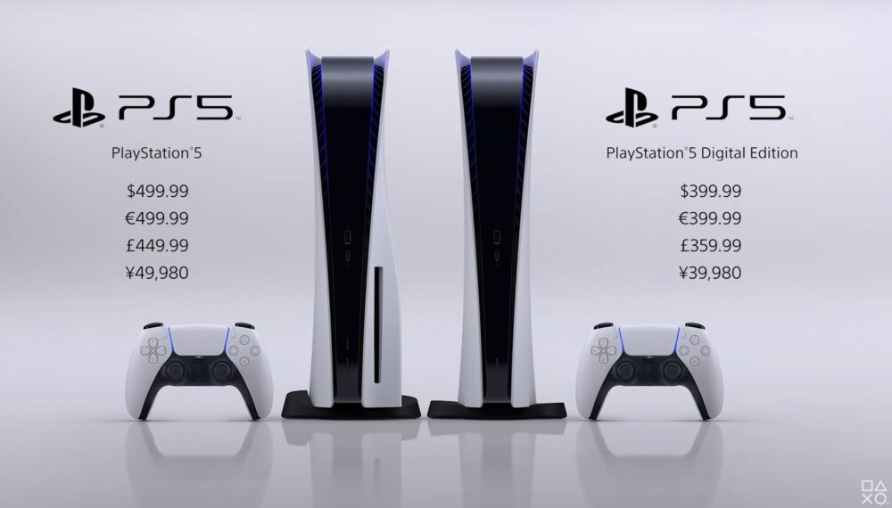 Sony confirma fecha de lanzamiento y precios de la PlayStation 5