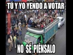 tu y yo votar