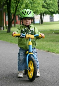 aprender a montar bicicleta