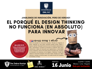 DESIGN THINKING NO FUNCIONA DEFINITIVO