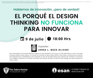 DESIGN THINKING ESAN