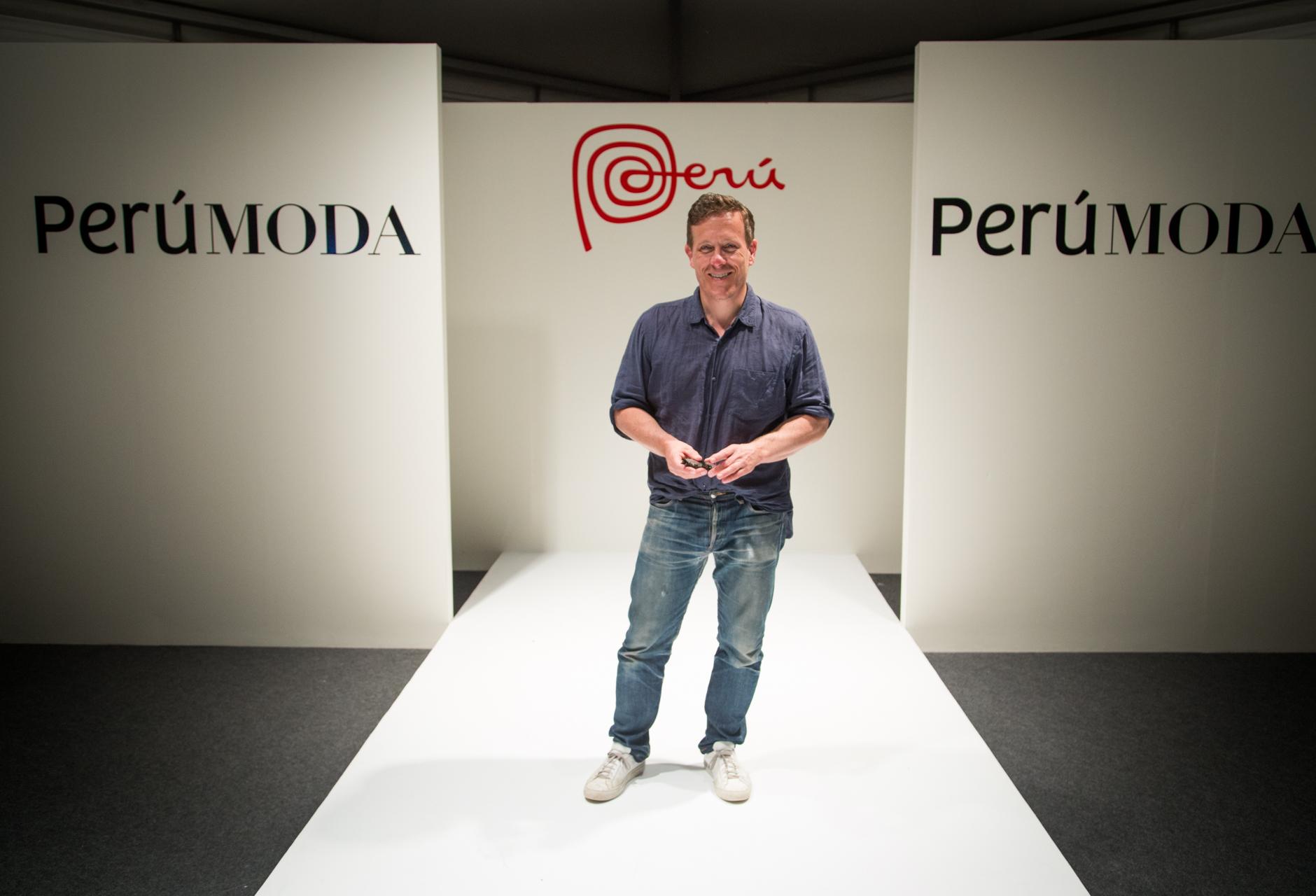 Scott Shuman en Perú Moda