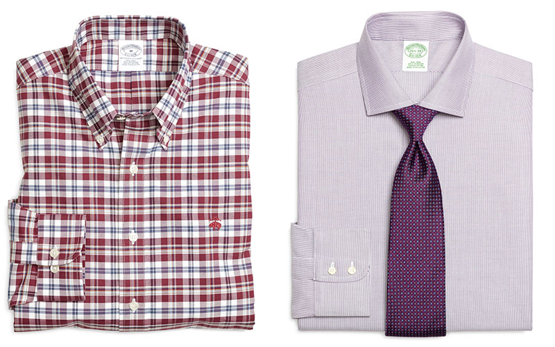 Izquierda  Camisa informal   Derecha  Camisa formal cf61bbeb067a5