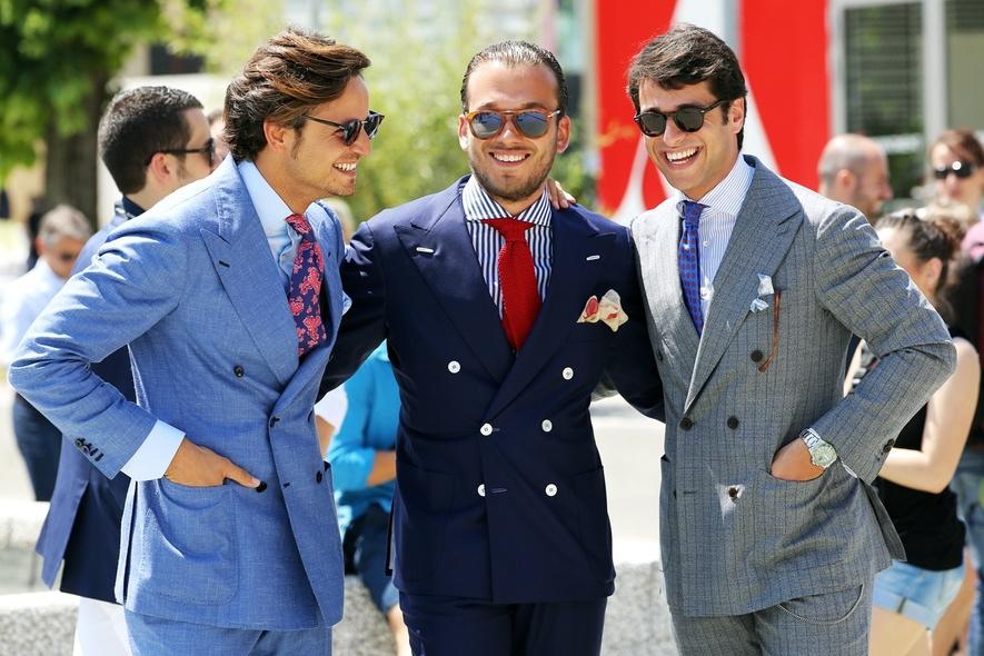 Los tipos de traje para hombres (Parte 1)   Blogs